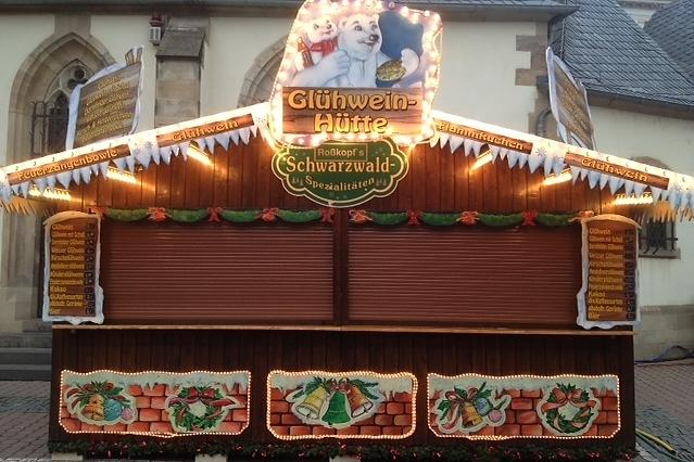 Glühweinstand - Schaustellerfamilie Roßkopf